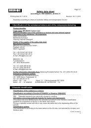 Safety data sheet - Brunox