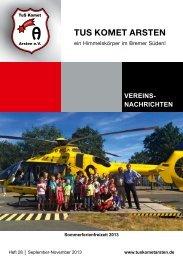 Heft Nr. 28 vom September 2013 - TuS Komet Arsten