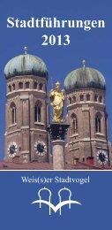 Stadtführungen München - Jahresprogramm 2013 - Weis(s)er ...