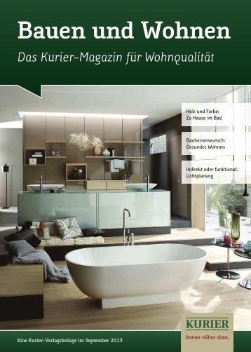 Bauen und Wohnen - Verlagsbeilagen des Nordbayerischen Kurier