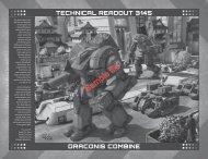 BattleTech: Technical Readout: 3145 Draconis Combine