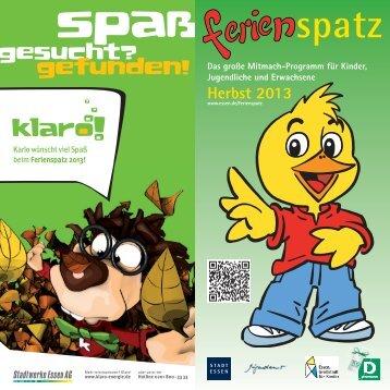 Herbstferien 2013 - Essen