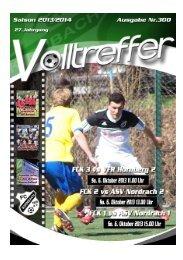 VOLLTREFFER Nr. 300 – ASV Nordrach - FC Kirnbach 1956 eV