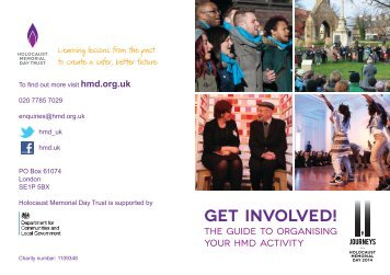 Activity Pack - Holocaust Memorial Day Trust
