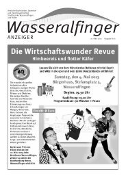 20. März 2013 Ausgabe Nr. 6 - Stadt Aalen