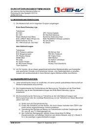 DÖM 2013/14 - Österreichischer Eishockeyverband