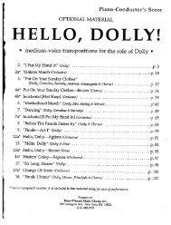 HELLO, DOLLY!~