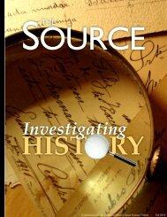 Investigating - California History-Social Science Project - UC Davis