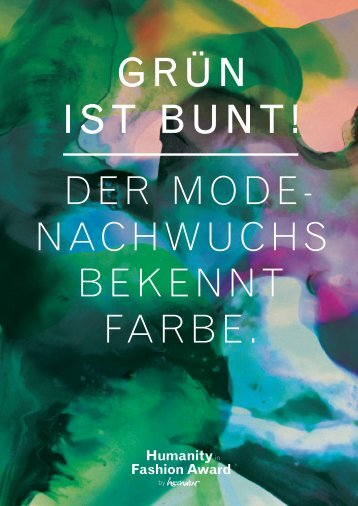 Magazin zum Award - Humanity in Fashion Award