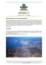 HTD-ZEITung Januar-Februar 2010 - Humanity's Team Deutschland ...