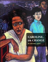 CAROLINE, or CHANGE - The Human Race Theatre Company