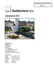 Stadtbücherei Isny - in Isny im Allgäu