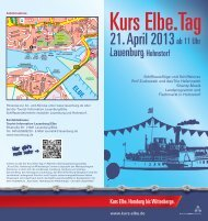 Kurs Elbe. Tag - Tourismusverband Mecklenburg - Schwerin e.V.