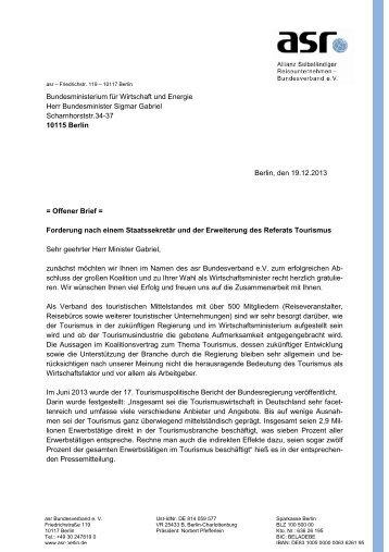 Antwort Minister Bahr Auf Offenen Brief Der Dgntf