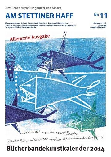 Ausgabe 11/13 - Amt am Stettiner Haff