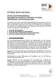 DTV-Reihe: Recht in der Praxis 25. Der neue Rundfunkbeitrag ...