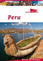 Peru Länderkatalog als PDF - avenTOURa