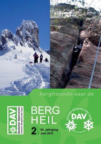 Berg Heil 2 / 2013 - Bergfreunde-Saar