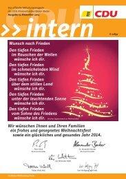 CDU Intern 2013/12 herunterladen - CDU Kreisverband Baden-Baden