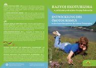 RAZVOJ EKOTURIZMA - Camping Association of Serbia - Kamping ...