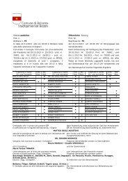 vedi allegato - Comune di Bolzano