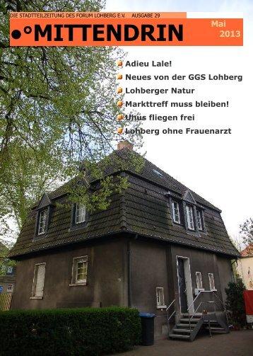Mittendrin Nr. 29 - Dinslaken-Lohberg