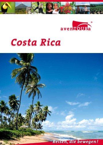 Costa Rica Länderkatalog als PDF - avenTOURa