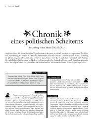Chronik des politischen und institutionellen Scheiterns - Forum ...