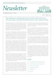 Ghorfa Newsletter 06/2013
