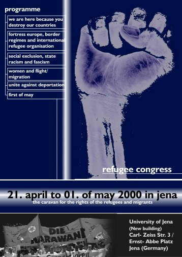 21. april to 01. of may 2000 in jena - Human Rights Server