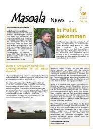 Masoala News Nr. 43 [PDF, 841 KB] - Zoo Zürich