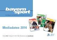 Mediadaten des bayernsports - blsv