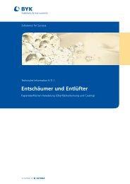 Entschäumer und Entlüfter - BYK Additives & Instruments
