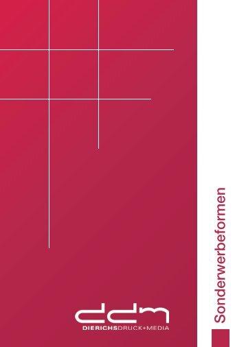 Sonderwerbeformen - Dierichs Druck+Media