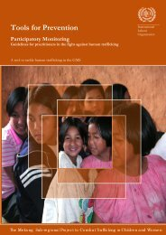 Participatory Monitoring: Guidelines - International Labour ...