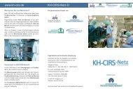 www.kh-cirs.de KH-CIRS-Netz-D - Arztbibliothek