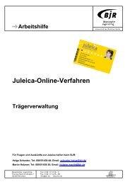 Arbeitshilfe Trägerverwaltung - Bayerischer Jugendring