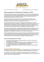 Freiwilligendienst in Bangladesch (pdf, 66 KB) - Netz Partnerschaft ...