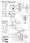 Tamiya DF-02 Gravel Hound Manual - CompetitionX.com - Page 6