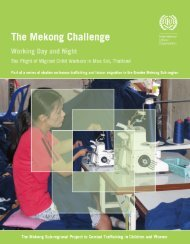 Mekong Challenge – Working Day and Night - International Labour ...
