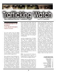 Trafficking Watch - International Rescue Committee