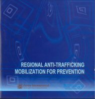 Regional Anti-trafficking Mobilization for Prevention - Zonta ...