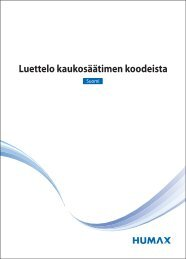 Finnish - Humax