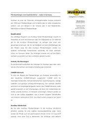 Pferdeanhänger vom Qualitätsführer – made in Germany Humbaur ...