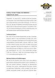 1 Humbaur Tandem Tieflader (HS 105020 BS) – ausgereift und ...