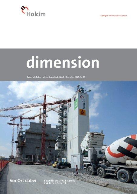 dimension 2/13 - Holcim Schweiz