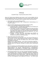 FAQs FairPlayLiga - Fußball-Verband Mittelrhein e.V.