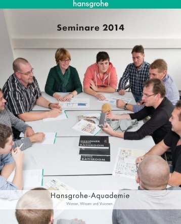 Seminarbroschüre 2014 - Hansgrohe