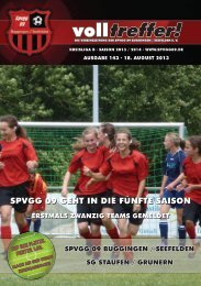 Volltreffer! Ausgabe 143 - spvgg09.de