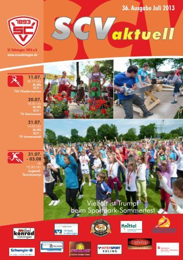 Juli 2013 - Sport Club Vöhringen 1893 e. V.